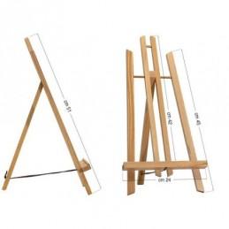 Cavalletto da tavolo in legno di faggio - altezza cm 51