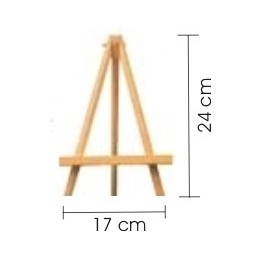 Cavalletto in legno da tavolo per miniatura