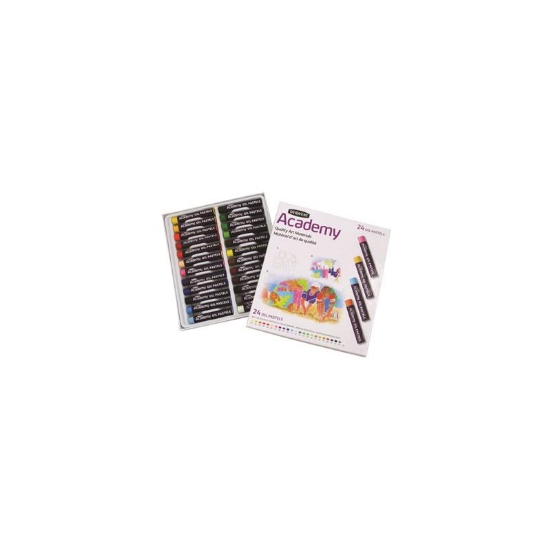 Derwent Academy Pastel Set 24 pastelli ad olio
