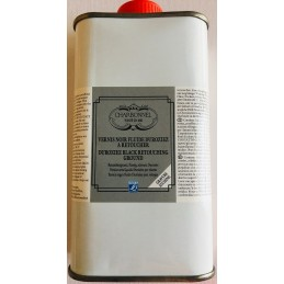 L&B Charbonnel Vernice liquida nera Durozier flacone 250 ml