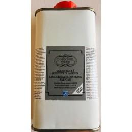 L&B Charbonnel Vernice nera di protezione Lamour flacone 250 ml
