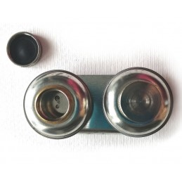 Scodellini doppi diametro 40 mm - tappo vite