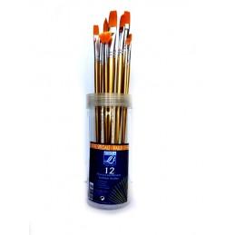 Confezione 12 pennelli...