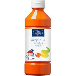 L&B Colori acrilici flacone da 500 ml Arancio