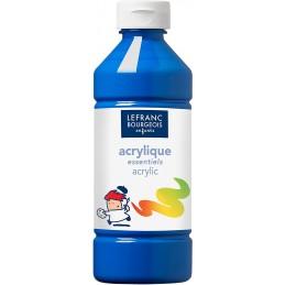 L&B Colori acrilici flacone da 500 ml - Blu primario