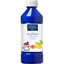 L&B Colori acrilici flacone da 500 ml Blu scuro