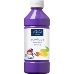 L&B Colori acrilici flacone da 500 ml Viola
