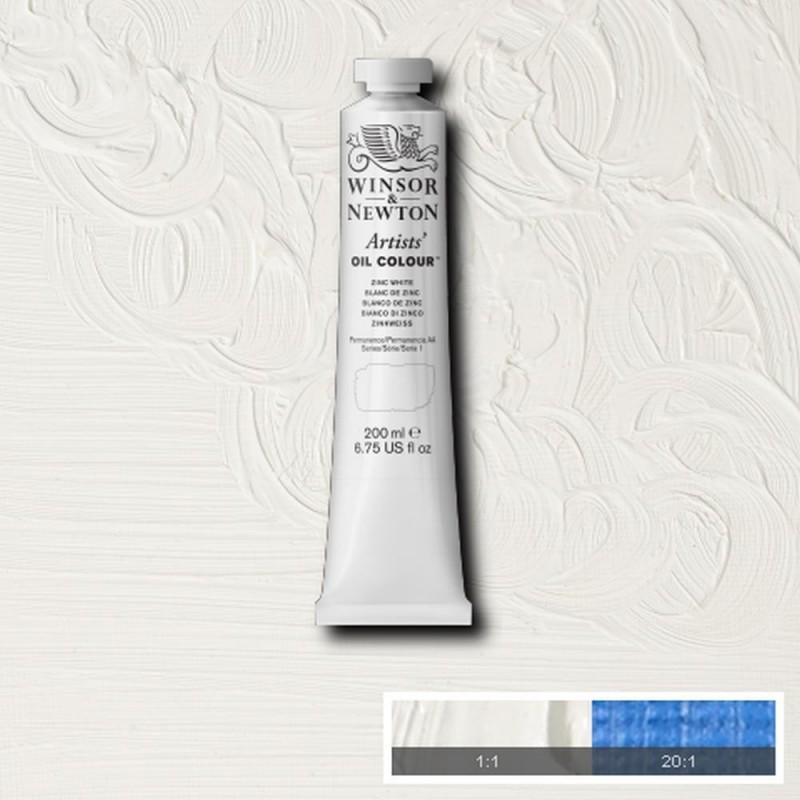 W&N Olio extrafine Artists' - serie 1 Bianco di zinco