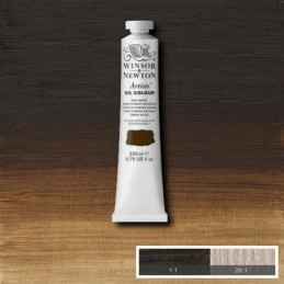 W&N Olio extrafine Artists' - serie 1 Terra d'ombra naturale