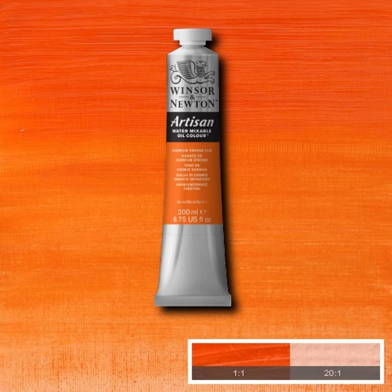 W&N Olio Artisan - 090 Giallo di cadmio arancio imitazione