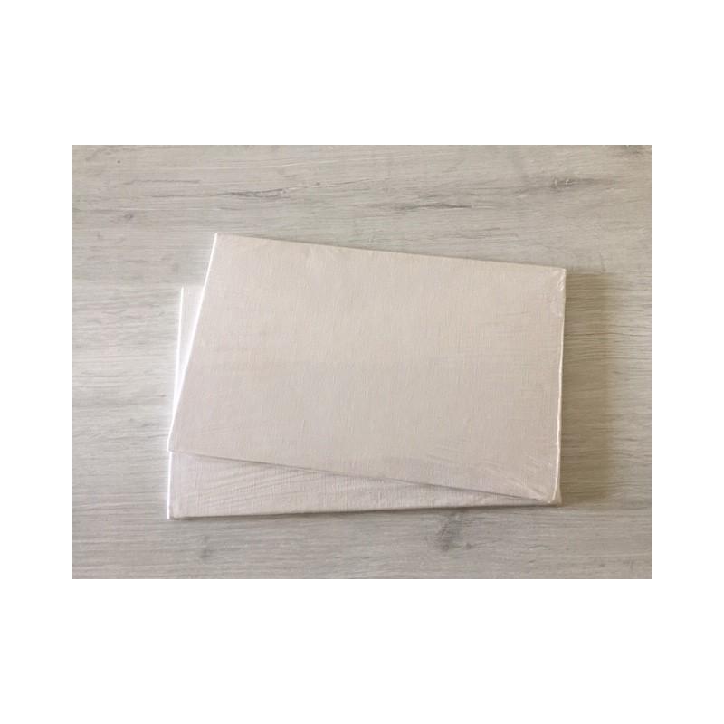 Confezione 42 Cartoni telati con bordi risvoltati cm 10x15