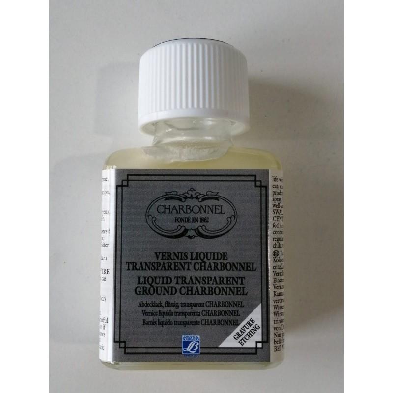 Charbonnel Vernice liquida trasparente flacone da 75 ml