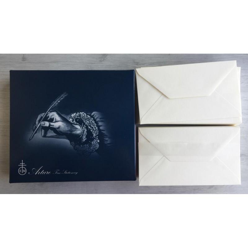 Magnani 1404 Busta Monarca 10.5x19 cm, 120 g/mq, 100 pz., colore avorio