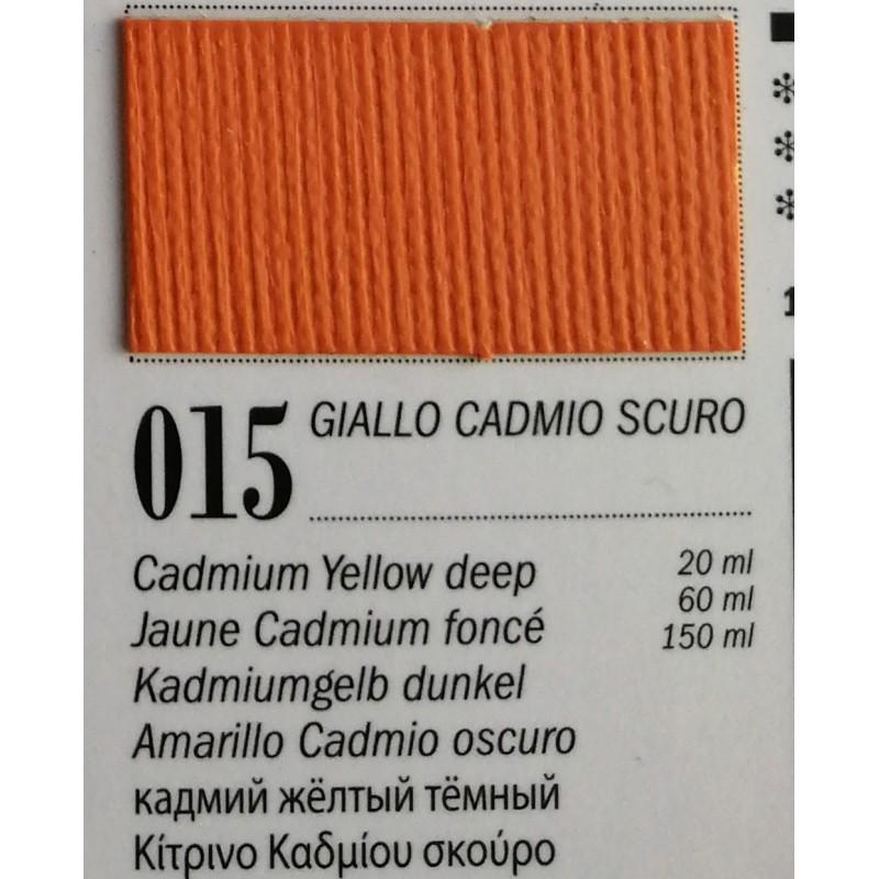 15 - Ferrario Olio Van Dyck Giallo cadmio scuro