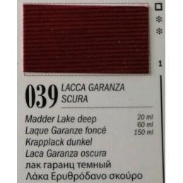 39 - Ferrario Olio Van Dyck Lacca garanza scura - tubo 150ml