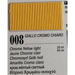 Ferrario Colori olio Van Dyck 20 ml - 08 Giallo Cromo Chiaro