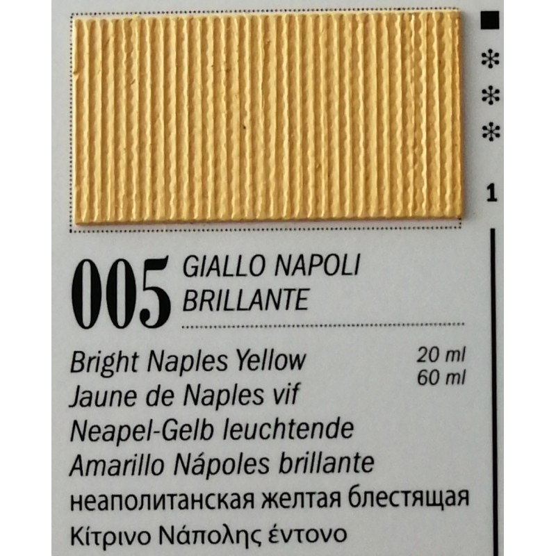 5 - Ferrario Olio Van Dyck Giallo Napoli Brillante