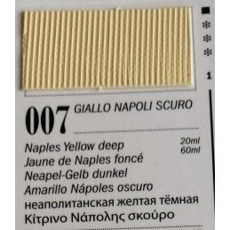 7 - Ferrario Olio Van Dyck Giallo Napoli Scuro