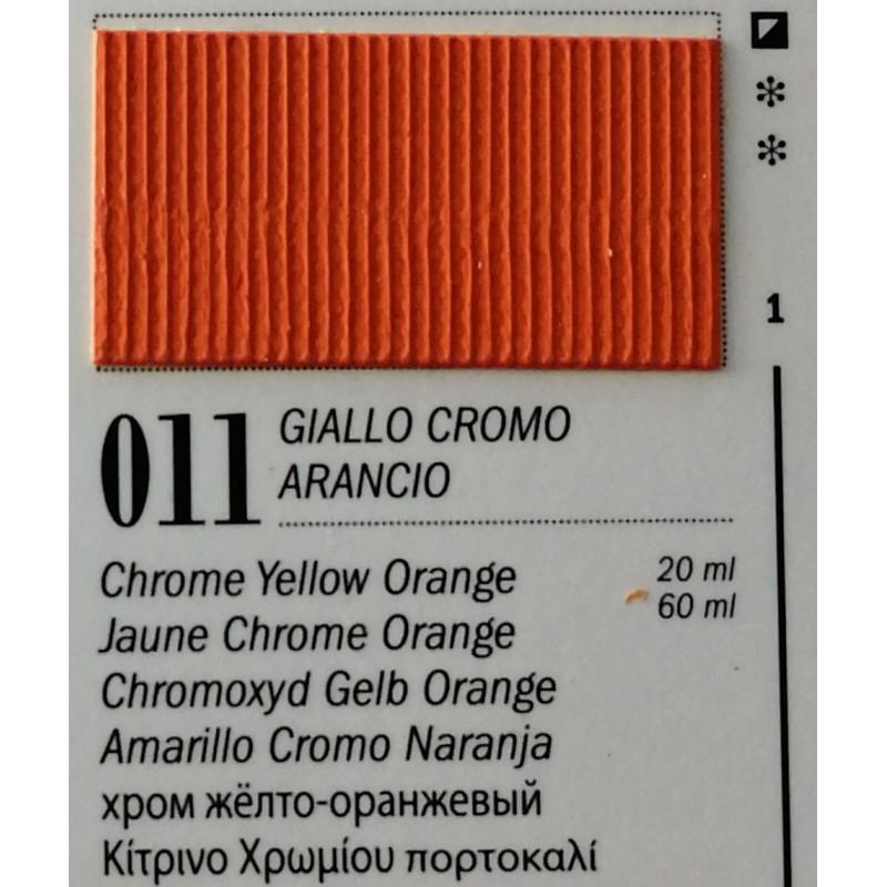 11 - Ferrario Olio Van Dyck Giallo Cromo Arancio (Azo)