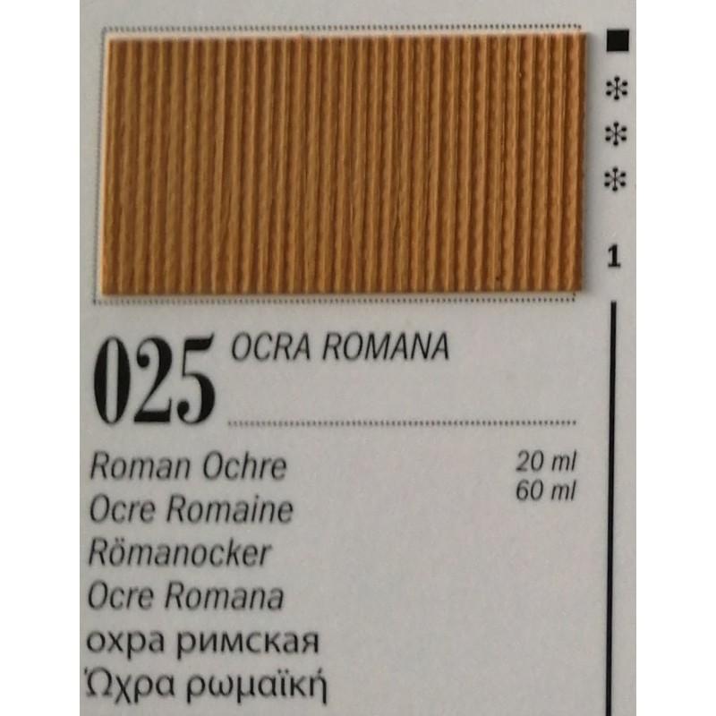 25 - Ferrario Olio Van Dyck Ocra Romana