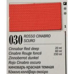 30 - Ferrario Olio Van Dyck Cinabro Rosso Scuro
