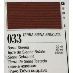 33 - Ferrario Olio Van Dyck Terra Siena Bruciata