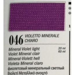 46 - Ferrario Olio Van Dyck Violetto Minerale Chiaro
