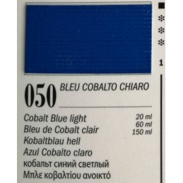50 - Ferrario Olio Van Dyck Bleu Cobalto Chiaro