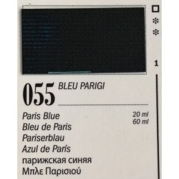 55 - Ferrario Olio Van Dyck Bleu Parigi
