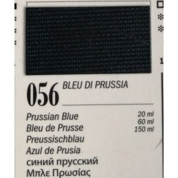 56 - Ferrario Olio Van Dyck Blu di Prussia