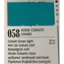 58 - Ferrario Olio Van Dyck Verde Cobalto Chiaro