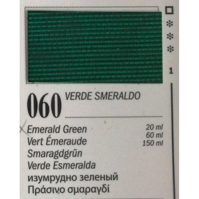 60 - Ferrario Olio Van Dyck Verde Smeraldo