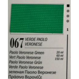 67 - Ferrario Olio Van Dyck Verde Paolo veronese