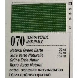 70 - Ferrario Olio Van Dyck Terra Verde Naturale