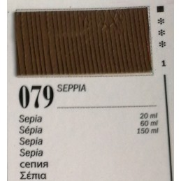 79 - Ferrario Olio Van Dyck Seppia