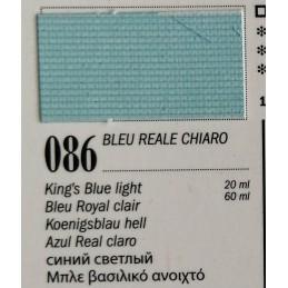 86 - Ferrario Olio Van Dyck Blu reale chiaro