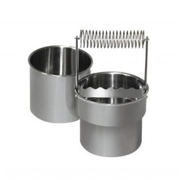 Lavapennelli professionale in acciaio di diametro mm 92