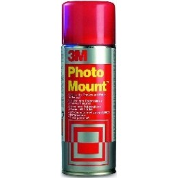Adesivo Spray 3M - Photo Mount - 400 ml per giunzioni permanenti