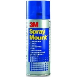 Adesivo Spray 3M - Spray Mount - 400 ml per giunti staccabili