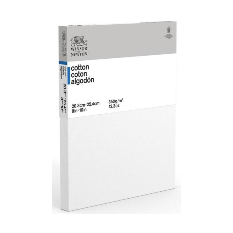 W&N Confezione 5 Telai telati 100% cotone 20x20 cm