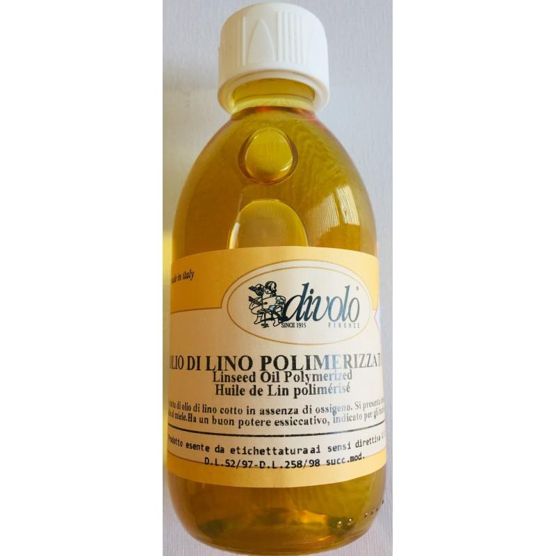 DiVolo Olio di lino polimerizzato ml.250