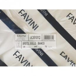 Favini Carta Bristol 25 fogli 50x70 cmcolore bianco grammi per mq. 240