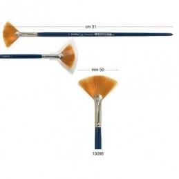 Pennello a ventaglio Kolibri in pelo sintetico n.6 manico da 31 cm