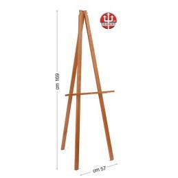 Cavalletto da esposizione in legno - Confezione in kit