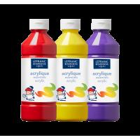 Colori acrilici Lefranc&Bourgeois 500 ml – Calcografia.it