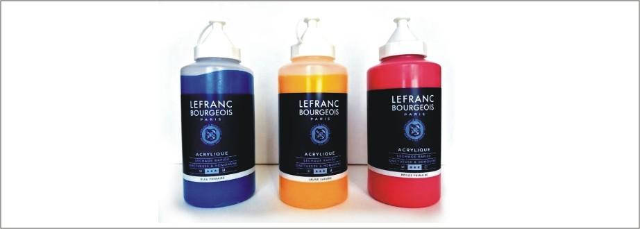 Colori acrilici FINE ACRYLIC della Lefranc&Bourgeois